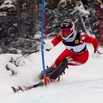 Stefanie Fleckenstein (BCST/WMSC) on her way to 2nd place at U18 Nationals slalom PHOTO CREDIT: Derek Trussler