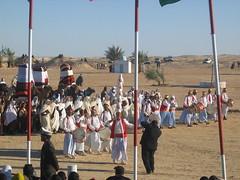 Folk Performance in Douz