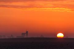 Foggy morning (Infomastern) Tags: morning sky sun sol fog sunrise himmel soluppgng dimma sdersltt motrgon