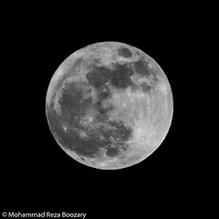Super Moon (Mohammad Reza Boozary) Tags: blackandwhite moon nature night blackwhite persian iran super full fullmoon        supermoon