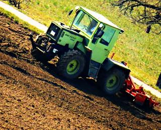 SX60 built in  creative filters mb trac 700. MB trac 700 Mercedes Benz Allrad Traktor.