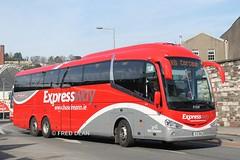 Bus Eireann SE35 (151D2642). (Fred Dean Jnr) Tags: cork expressway scania buseireann irizar i6 se35 triaxle buseireannroutex8 clontarfstreetcork march2015 151d2642