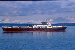S.S. Great land (sonofmidnight@att.net) Tags: alaska tote cookinlet mountain roroship