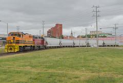 Ingenia Bound (Joseph Bishop) Tags: railroad train track tracks rail railway trains rails railfan brantford sor emd ingenia 3049 gp402w southernontariorailway rlhh burfordspur
