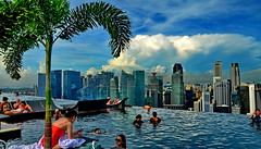 Singapore at Marina Bay Sands (gerard eder) Tags: world city travel singapore asia southeastasia viajes reise southeasternasia marinabaysands