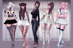 104  Happy Friend's Day!  (trendyandcoffee) Tags: secondlife sl photography edition ps friends love frienship girls