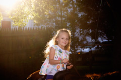 _MG_0386-26 (k.a. gilbert) Tags: backyard canon20d canon430exii speedlight ettl2 ceceleysbirthday charlotte flare flash handheld horse oncameraflash outside party pony riding sun tamron1750mmf28