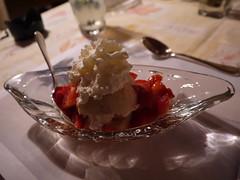 Strawberry Shortcake (geodeos) Tags: strawberryshortcake killarneylodge algonquinprovincialparkontariocanada strawberry fruit shortcake whippedcream dessert food