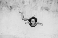 (lebramlett721) Tags: portrait blackandwhite pool girl swimming nikon underwater d600 dicapac