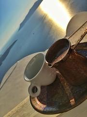 Greek coffee in Caldera (Kyriakos11) Tags: caldera kyriakos11 santorini greek greece