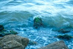 coastal place (Katie's Cape) Tags: blue texture nature water rock river nikon exposure waves florida d200