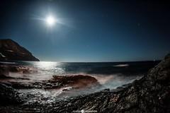 Moon Light (Drougoutis Photography) Tags: ocean nightphotography blue sea seascape night landscape photography landscapes nice nikon photographer seascapes nightscape photoshoot photos bluesky athens greece astrophotography nightsky nightscapes landscapephotography nikonphotography nikond3 athensphotography nikophotography