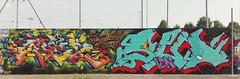 Sees, Neon and Pazol | 2016 (SEESMA) Tags: sees seesma neon pazol siz sud graffiti lettering hiphop milano writing ien solids 2016 loop drips wildstyle bn cta