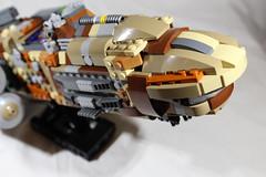 "GAWS-3 ""Nebula Prime"" 2 (LegoLord82) Tags: lego micro space spacestation future star trek wars aliens outer futuristic"