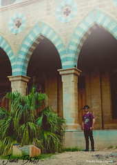 Jawad (themj_productions) Tags: portrait photoshoot photography nusrat themjproductions red hat model shades karachi portfolio