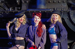 End of a long evening (David Blandford photography) Tags: didcot railway centre timeline events steam glamour
