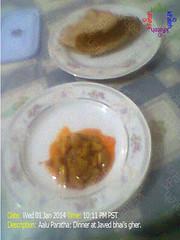 IMG_480x640_1744 (fateh.khursheed) Tags: dinner aalupratha omlate gulabjamun mithai nimko balushahi