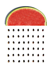 OCD (brescia, italy) (bloodybee) Tags: 365project watermelon melon fruit vegetables food seeds ocd obsessivecompulsivedisorder disorder psychiatry medicine mental health humor fun stilllife red green white black