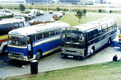 Slide 069-57 (Steve Guess) Tags: bristol avon bus rally show event england gb uk harris grays daf plaxton scouts leyland tiger cub 81cyv duple brittania britannia