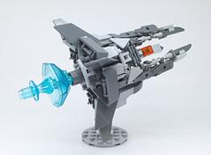 LEGO Nemesis VIC VIPER-15 (ToyForce 120) Tags: lego robot robots mecha mech mechanic legomech legomoc nemesis vicviper starfighter