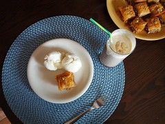Sweet baklava & ice cream (Karolina W) Tags: food baklava icecream baking