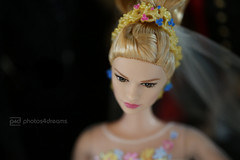 cinderella (photos4dreams) Tags: barbie doll photos4dreams p4d photos4dreamz toy puppe movie film makeup disney cinderella gown dress kleid abendkleid ballkleid ball lilyjames brautkleid wedding marriage veil ring collectors collector