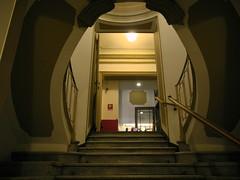 going up (Hayashina) Tags: torino turin italy staircase doorway
