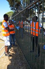 Kennedy19 (Genova citt digitale) Tags: richiedenti asilo genova piazzale kennedy agosto 2016 volontari nigeria lavoro ilva