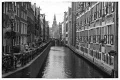 Amsterdam (City-Photography) Tags: amsterdam netherlands holland dutch canals canal amsterdamse grachten gracht city bridge architecture black white photography fotos zwart wit street buidings building scene wereldstad holiday historic historisch photo picture pictures bw blackwhite blackandwhite europe people citie cities stad travel adventure trip tourist travelphotography traveltheworld