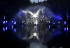 2016 - 14.10.16 Enchanted Forest - Pitlochry (57) (marie137) Tags: enchanted forest pitlochry mobrie137 scotland lights music people water reflection trees shows food fire drink pit patter shapes art abstract night sky tour family walk path bells smoke disco balls unusual whisperer bridge wood colour fun sculpture day amazing spectacular must see landscape faskally shimmer town