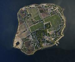 MOZIA AERIAL VIEW IN SUMMER DAWN 2016 (opaxir) Tags: mozia sanpantaleo marsala sicilia sicily aerial archaeology island fenici motya zeiss touit 12mm distagon1228touit