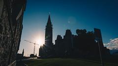 Sunset Parliament (anthony_wan) Tags: parliament sunset sun building ottawa landscape evening dusk blue shadow silhouette dark canadian ontario canada sky nikon d5200 tokinaaf1120mmf28 architecture