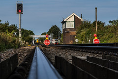At the end of the line (@bill_11) Tags: stop redlight minster thanet weekend engineering maintenence track signalbox