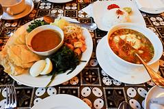 Gado-gado and Soto (A. Wee) Tags: cafebatavia cafe jakarta  indonesia  kotatua gadogado salad