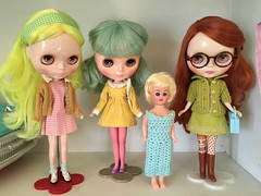 (andersonsmith.katie) Tags: vintage retro kitsch doll display xinochika xinochka factory tbl wendy weekender outfits sleepforever