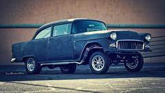 '55 Gasser (True Mendez Foto (aka Darkhorse68)) Tags: truemendezfoto superrun canon chevrolet chevy classiccar carshow 40d 50mm14 1955 gasser