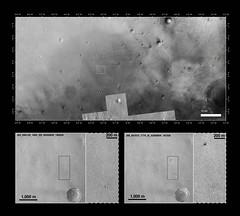 Schiaparelli landing site (europeanspaceagency) Tags: mro exomars mars landingsite schiaparelli edm