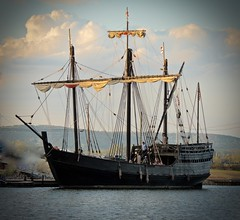 Columbus Ship Pinta  MAR_5702 (John W East AU58) Tags: pinta columbusship replica brilliant wow
