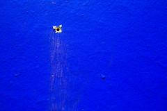 Wallflower (Chris Huddleston) Tags: abstract blue hole wall noperson surface texture