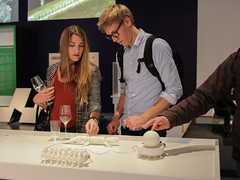 """Opening """"The Alchemists of Art and Science"""" (Ars Electronica) Tags: 2016 arselectronica arselectronicacenter thealchemistsofartandscience artandscience exhibition linz upperaustria austria museum mediaart art technology society science opening"""