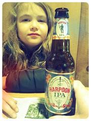 Harpoon IPA (Pak T) Tags: beer bottle kat drink beverage samsung alcohol harpoon ipa tmobile app beerporn untappd samsunggalaxys2 samsunggalaxysii
