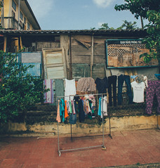 Hang (Tim Bow Photography) Tags: world travel houses colour travelling art french asia property vietnam clothes hoian vision british welsh colourful capture washing hangingouttodry everydayliving capturinglife hoianancientcity timbowphotography