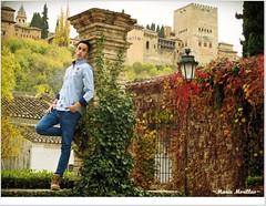 sueos de Alhambra (Mara Morillas) Tags: color canon book y embassy retratos granada otoo soledad mara ropa fotografa horacio 2014 l matilla calvente morillas valecuatro