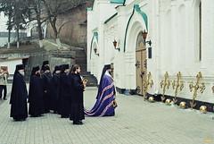 121. Освящение крестов Кирилло-Меф. лестницы 2006 г