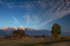 mormon barn (Donald L.) Tags: tetonrange mormonbarn grandteon