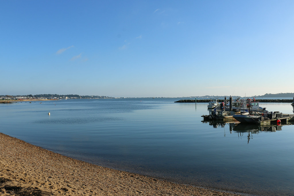 Poole Quay, and a bit of sun