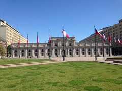 Plaza de la Constitution Santiago