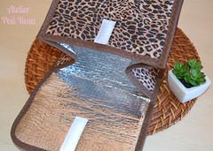 Lunch Bag - Oncinha (Atelier Poá Rosa) Tags: bag lunch onça oncinha lancheira