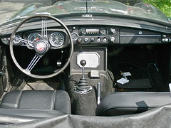 MGC Drivers Handles and Switches (sanders') Tags: classic 1969 amsterdam 60s interior interieur convertible mg oldtimer mgc streetphoto spotted 1960s dashboard switches cabrio ha