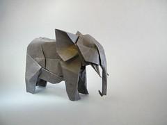 Elephant - Nguyen Hung Cuong (Rui.Roda) Tags: elephant origami papiroflexia hung nguyen elefante cuong papierfalten